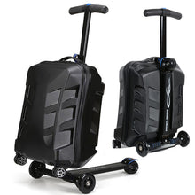 Load image into Gallery viewer,  - New Designe 21inch TSA Lock Scooter Luggage Aluminum Suitcase With Wheels Skateboard Rolling Luggage Travel Trolley Case - guiro - Zeinab Fashion