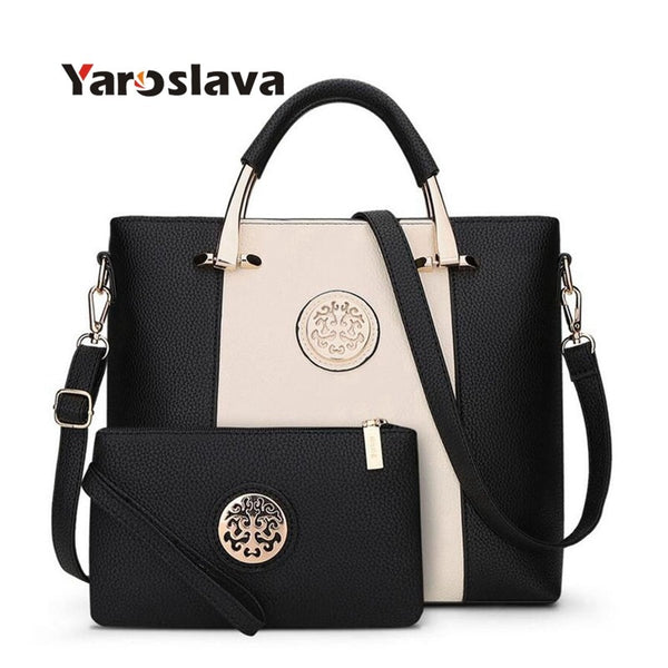 - European And American Style Women Tote Bag Brand Designer Women Messenger Shoulder Bags Handbag And Purse - guiro - Zeinab Fashion