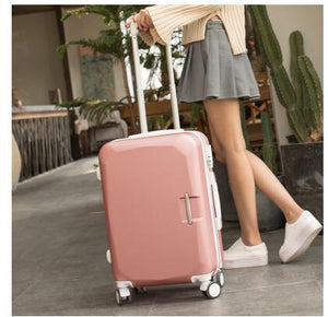 "- ABS+ PC Brand Women 20""24""26"" Inch Travel Luggage Trolley suitcase Boarding Case Rolling Case On Wheels  Women Rolling Luggages - guiro - Zeinab Fashion"