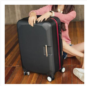 ",ABS+ PC Brand Women 20""24""26"" Inch Travel Luggage Trolley suitcase Boarding Case Rolling Case On Wheels  Women Rolling Luggages,guiro,Zeinab Fashion."