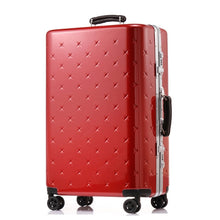 Load image into Gallery viewer,  - Letrend business Aluminium Frame Rolling Luggage Spinner Suitcases Wheels password Trolley 20 inch Cabin Travel Bag Trunk - guiro - Zeinab Fashion