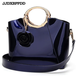 ,New High Quality Patent Leather Women bag Ladies Cross Body messenger Shoulder Bags Handbags Women Famous Brands bolsa,guiro,Zeinab Fashion.