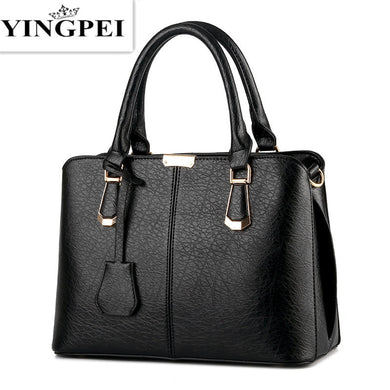 ,Women Leather Handbags Medium Shoulder Bags Top-Handle Luxury Women Messenger Bag Famous Brands Female Tote Women Bolsa,guiro,Zeinab Fashion.