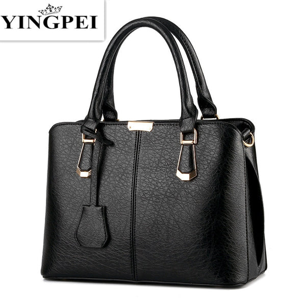 - Women Leather Handbags Medium Shoulder Bags Top-Handle Luxury Women Messenger Bag Famous Brands Female Tote Women Bolsa - guiro - Zeinab Fashion