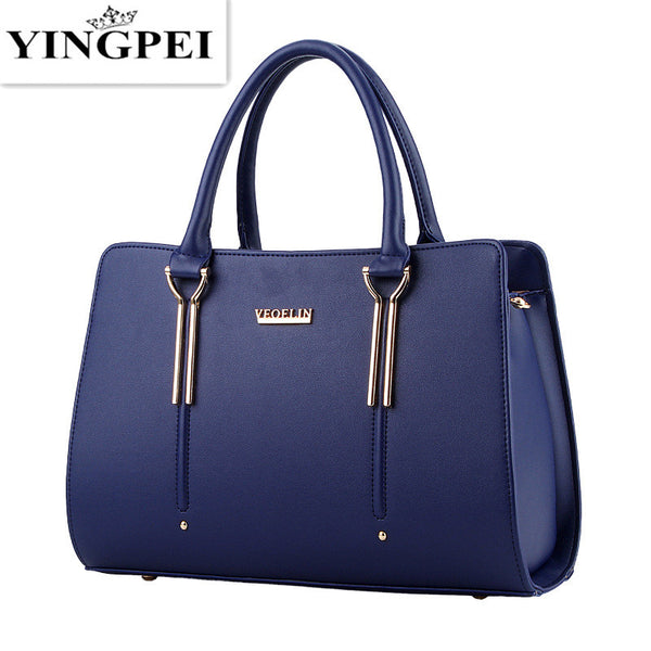 - Women Messenger Bags Casual Tote Femme Fashion Luxury Women Bags Handbags Designer Pocket High quality Top-Handle - guiro - Zeinab Fashion