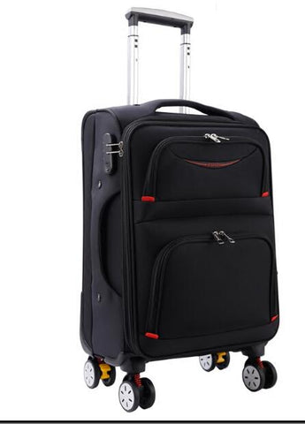 - Travel  Rolling Luggage Bag On Wheel Business Travel Luggage Suitcase Oxford Spinner suitcase Wheeled trolley bags for men - guiro - Zeinab Fashion