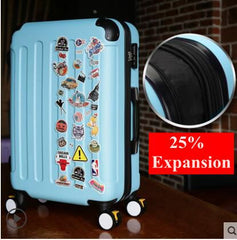 - Brand 20 inch 22 24 inch Rolling Luggage Suitcase Boarding Case travel luggage Case Spinner Cases Trolley Suitcase wheeled Case - guiro - Zeinab Fashion
