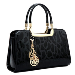 - New Luxury Women Patent Leather Handbags Designer Top Handle Bags Ladies Shoulder Crossbody Bag Fashion Satchels Tote sac a main - guiro - Zeinab Fashion