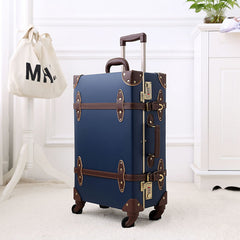- 2018 suitcase for makeup designer luggage wheel spinner handmade pu leather geniune leather pu large size high quality rolling - guiro - Zeinab Fashion