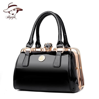 ,Famous Designer Big Women Handbag Patent Leather Shoulder Bags High Quality Diamonds Ladies Large Capacity Tote Crossbody Bags,guiro,Zeinab Fashion.