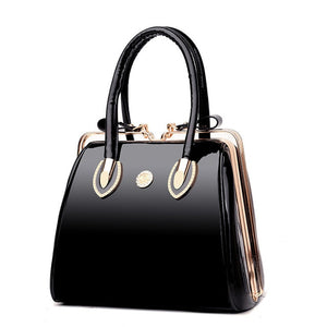 - Famous Designer Big Women Handbag Patent Leather Shoulder Bags High Quality Diamonds Ladies Large Capacity Tote Crossbody Bags - guiro - Zeinab Fashion