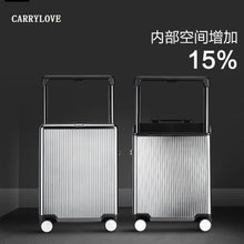 Load image into Gallery viewer, ,CARRYLOVE Business 20/24 size Luxury, high quality, fashion PC  Rolling Luggage Spinner brand Travel Suitcase,guiro,Zeinab Fashion.