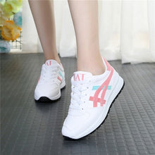 Load image into Gallery viewer, ,Women Sneakers 2018 Spring Autumn Vulcanized Shoes Ladies Casual Shoes Breathable Walking Mesh Flat Shoes Tenis Feminino,guiro,Zeinab Fashion.