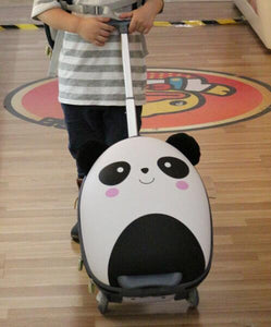 - wheeled suitcase for girls Cartoon Suitcase for Kids Children Travel Trolley Suitcase for boys Rolling luggage suitcase backpack - guiro - Zeinab Fashion