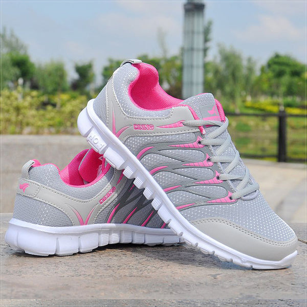 - Women Shoes Breathable Air Mesh Sneakers Woman Lightweight Vulcanize Shoes White Basket Femme Spring Women Casual Shoes Krasovki - guiro - Zeinab Fashion