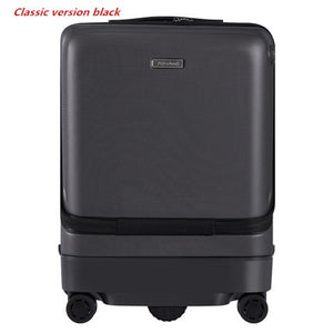 ,Auto-following Luggage,Intelligent Electric Suitcase bag,Automatic walking PC Cabin Travel box,Remotely controllable Case,guiro,Zeinab Fashion.
