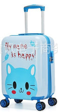 Load image into Gallery viewer,  - New Fashion 19'20' Cute Cartoon Suitcases Wheel Kids Boys And Girls Rolling Luggage Spinner Trolley Children Travel Bag Student - guiro - Zeinab Fashion