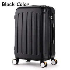 Luggage - High quality 20inches candy color abs pc travel luggage bags on brake universal wheels, hardside suitcase for girl - guiro - Zeinab Fashion