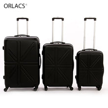 Load image into Gallery viewer, ,ORLACS Designer Trolley Suitcases Men Fashion Metal Rolling Luggage Women Travel Case Family suit Multiple Colour Hot Selling,guiro,Zeinab Fashion.