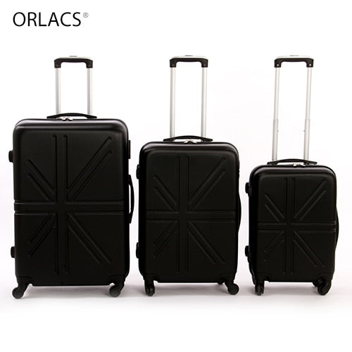 - ORLACS Designer Trolley Suitcases Men Fashion Metal Rolling Luggage Women Travel Case Family suit Multiple Colour Hot Selling - guiro - Zeinab Fashion