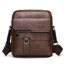 Load image into Gallery viewer,  - Luxury Brand Men Messenger Bags Crossbody Business Casual Handbag Male Spliter Leather Shoulder Bag Large Capacity - guiro - Zeinab Fashion