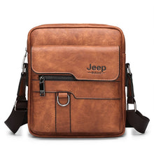 Load image into Gallery viewer, ,Luxury Brand Men Messenger Bags Crossbody Business Casual Handbag Male Spliter Leather Shoulder Bag Large Capacity,guiro,Zeinab Fashion.