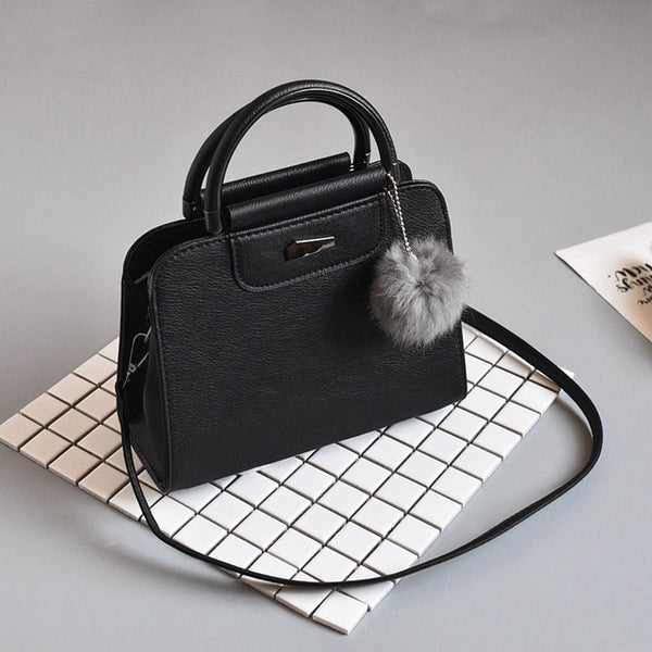 Handbags - Women Bag Shoulder bag For women 2019 High Quality Fashion Leather Bags New Rivet handbag Ladies Casual Crossbody Bags - guiro - Zeinab Fashion