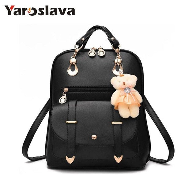 - New Arrival Fashion Women Backpack New Spring And Summer Students Backpack Women Korean Style Backpack High Quality LL24 - guiro - Zeinab Fashion