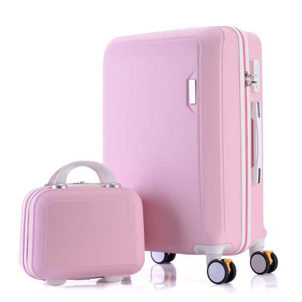 - Rolling Luggage Set Spinner Women Suitcase Wheels Travel Bag Trolley Men Carry-Ons Handle Bag Trunk - guiro - Zeinab Fashion