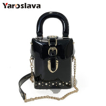 Load image into Gallery viewer,  - 2019 Famous brand Diamond box handbags mini Cube Brand original design crossbody bag for women messenger bags LL409 - guiro - Zeinab Fashion
