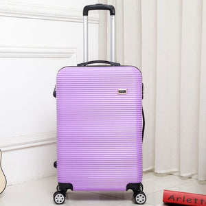 ,HOT Rolling Luggage Sipnner wheels ABS+PC Women Travel Suitcase Men Fashion Cabin Carry-On Trolley Box Luggage,guiro,Zeinab Fashion.