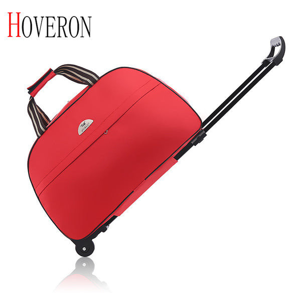 - 2019 New Fashion Waterproof Luggage Bag Thick Style Rolling Suitcase Trolley Luggage Women&Men Travel Bags Suitcase with Wheels - guiro - Zeinab Fashion