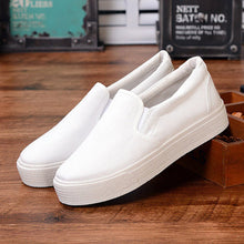 Load image into Gallery viewer, ,Laamei Women Vulcanize Shoes Canvas Sneakers Shoes Ladies Slip On Breathable Shallow Casual Loafers Plus Size chaussure femme,guiro,Zeinab Fashion.