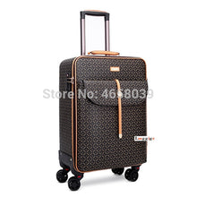 Load image into Gallery viewer,  - Women Luggage bag with handbag Rolling Suitcase set - guiro - Zeinab Fashion
