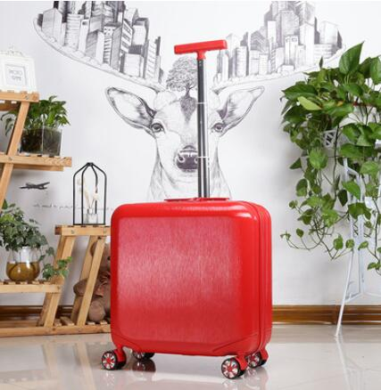 - Cabin Luggage suitcase for travel Spinner suitcase women trolley luggage Rolling Suitcase for girls Wheeled Suitcase trolley bag - guiro - Zeinab Fashion