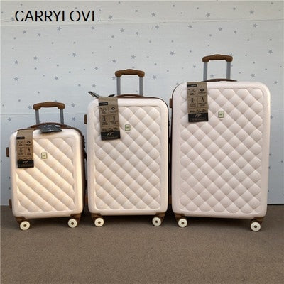 - Stylish And Light Large Capacity, High Quality Size PC Rolling Luggage Spinner Brand Travel Suitcase - guiro - Zeinab Fashion