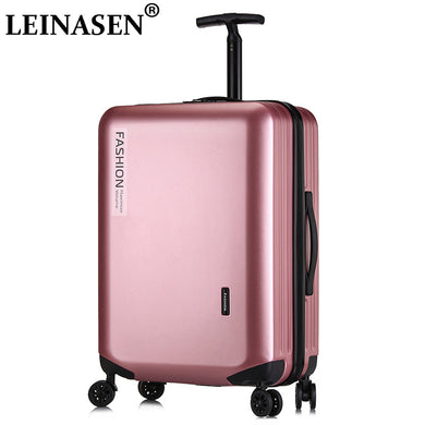 ,LEINASEN Popular fashion rolling luggage 18