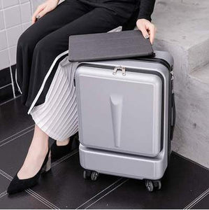 - Travel Tale Can Board Front Computer Bag High quality Business Luggage Spinner Brand Travel Suitcase - guiro - Zeinab Fashion