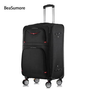 - Rolling Luggage Sets Spinner High capacity Password Trolley Men Business Suitcase Wheels - guiro - Zeinab Fashion