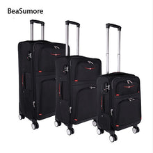 Load image into Gallery viewer,  - Rolling Luggage Sets Spinner High capacity Password Trolley Men Business Suitcase Wheels - guiro - Zeinab Fashion