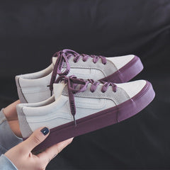 - 2019 Women Sneaker Fashion Breathble Vulcanized Shoes Platform Lace up Casual White Shoes Tenis Feminino zapatillas mujer - guiro - Zeinab Fashion