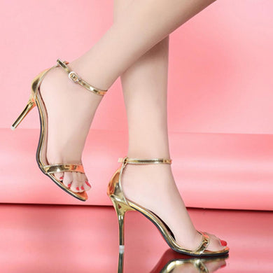 ,Summer Women Shoes Sandals Buckle Strap High Heels Open Toe Platform Sandals Silver Gold Sandalias Mujer Ladies Shoes Plus size,guiro,Zeinab Fashion.