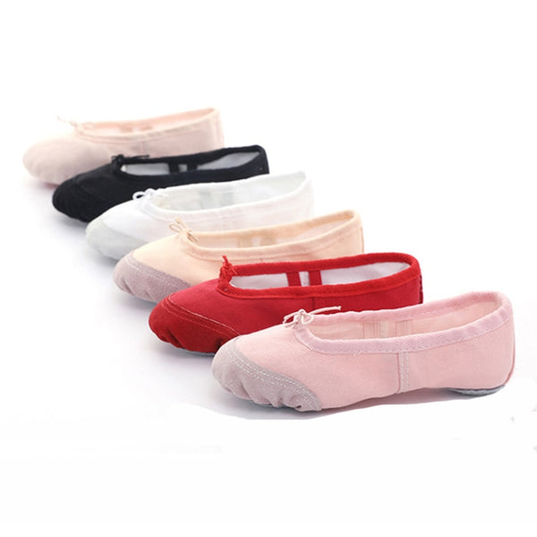 - USHINE EU22-45 Cloth/Leather Head Yoga Slippers Teacher Gym Indoor Exercise Canvas Ballet Dance Shoes Children Kids Girls Woman - guiro - Zeinab Fashion