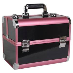 ,Portable Professional Trolley Cosmetic case Bag Suitcase For Makeup with wheels Large Capacity Women Box Nails Beauty Luggage,guiro,Zeinab Fashion.