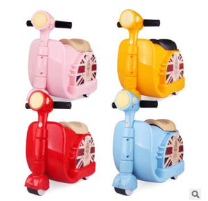 ,Ride on Suitcase for kids Riding suitcase for boys Children Car Suitcase for baby Children Travel Trolley Rolling luggage bags,guiro,Zeinab Fashion.
