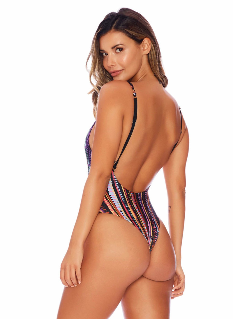 Brazenly Braided Bohemian Queen One Piece - Semi-Brazilian