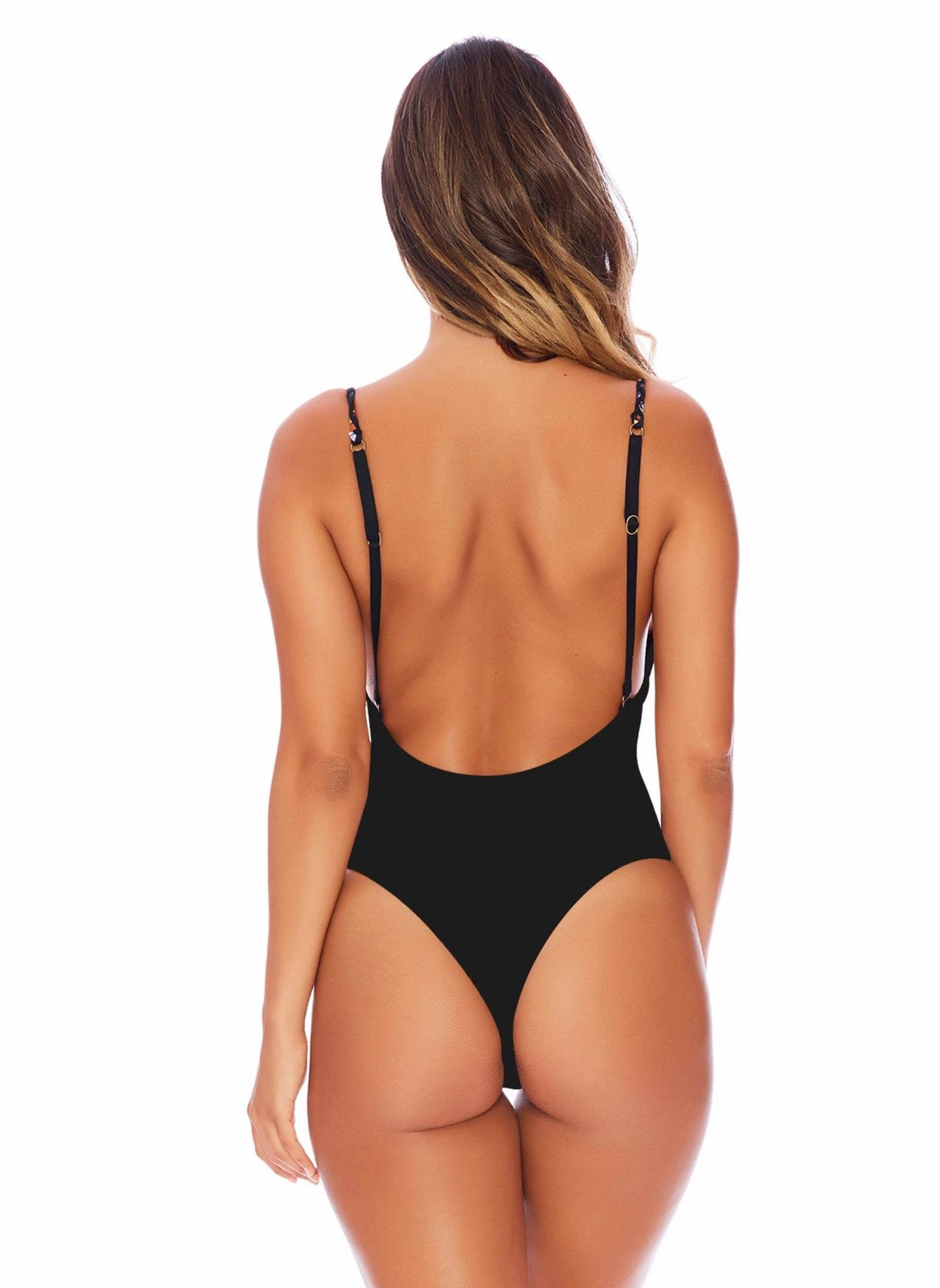 Brazenly Braided One Piece in Midnight – Semi-Brazilian