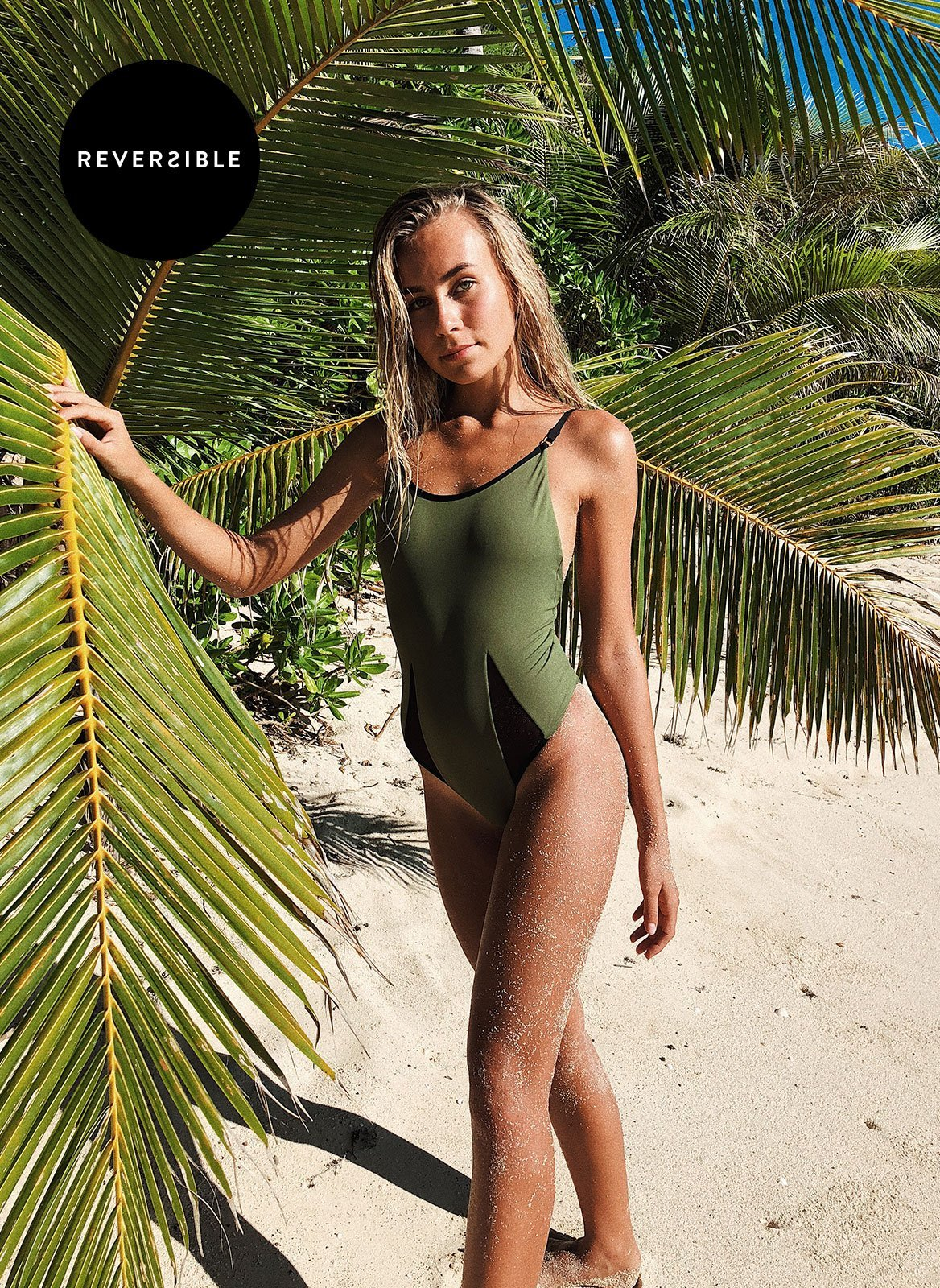 Camouflage One Piece - Thong
