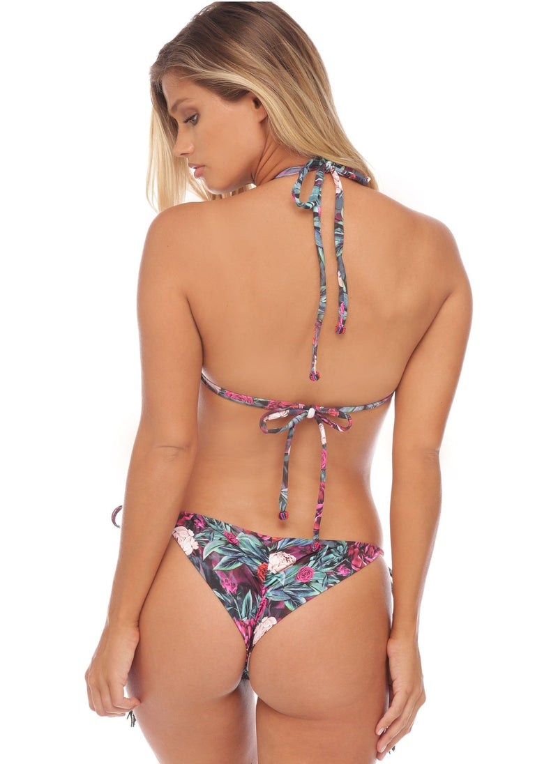 Gemma Triangle - Embroidered - Salty Mermaid Swim