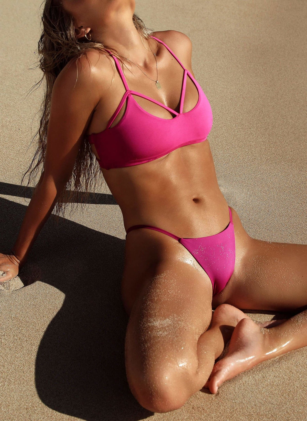 Jessica Bottom - Brazilian - Fuschia - Salty Mermaid Swim